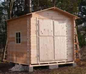 Garden shed FRANK